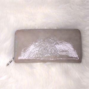 Coach zip around wallet
